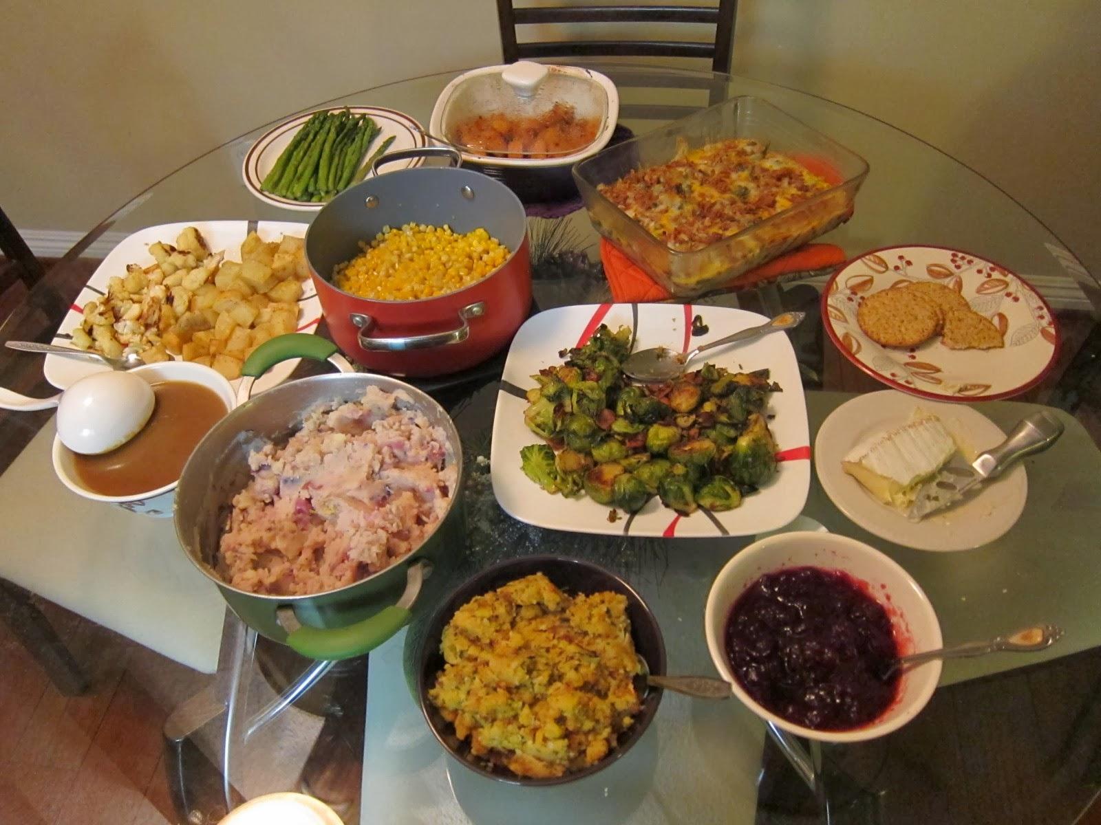 turkey dinner calories