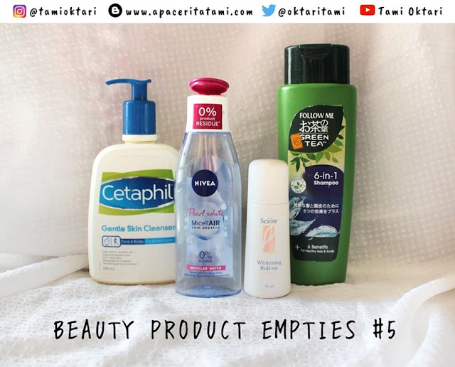BEAUTY PRODUCT EMPTIES #5 | Edisi Agustus 2019