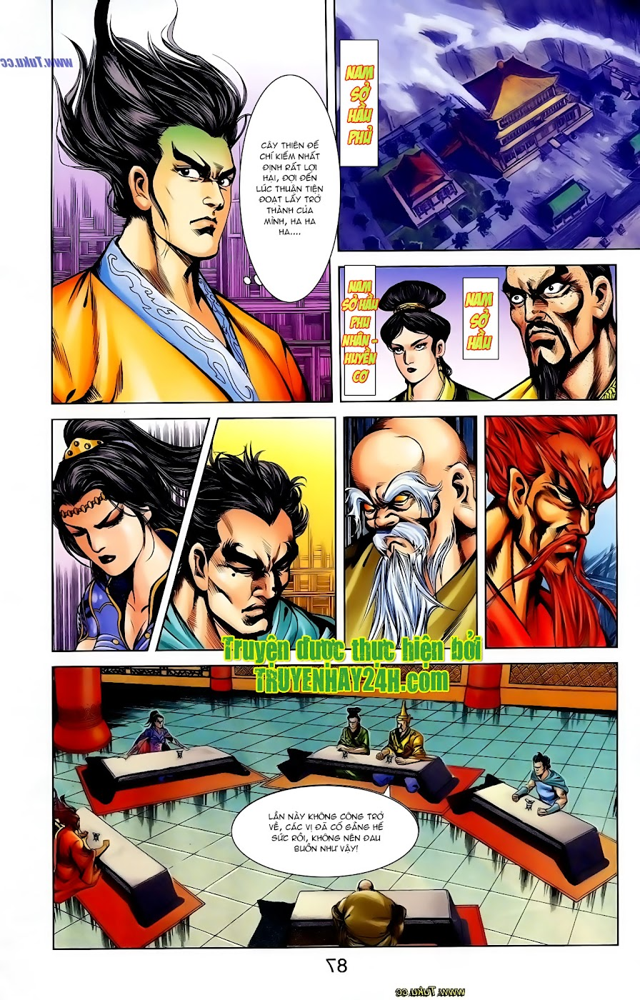 Cơ Phát Khai Chu Bản chapter 108 trang 23