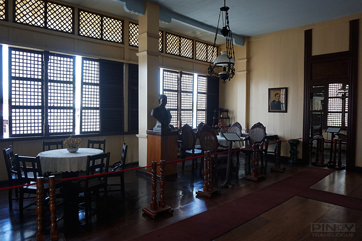 Jose Rizal's birthplace - living room (sala)