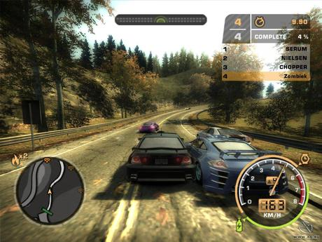 Need for Speed Most Wanted Game Play PC
