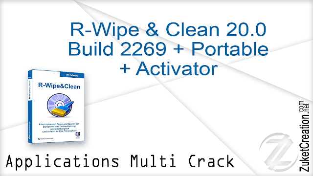 R-Wipe & Clean 20.0 Build 2269 + Portable + Activator