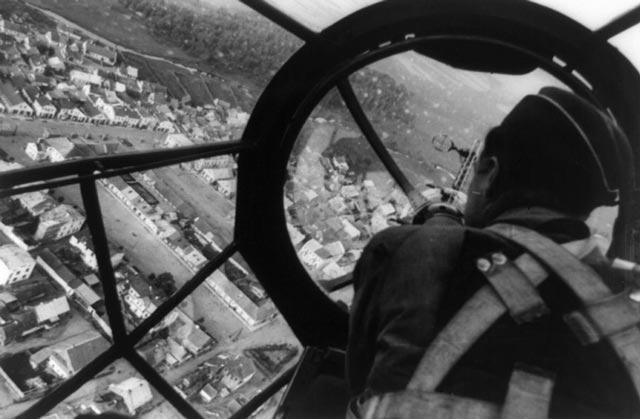 A Luftwaffe bombardier during World War II worldwartwo.filminspector.com