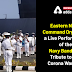 Eastern Naval Command organised a live performance of the Navy Band as a tribute to  the Corona Warriors