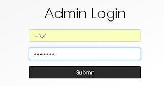 Panel Dashboard Login Admin