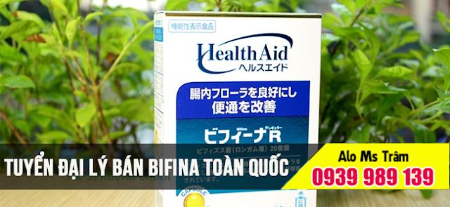 Đại lý bán men vi sinh bifina quận 10 TP Hồ Chí Minh