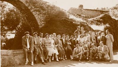 Puente de la comarca, Castellar de N'Hug, 25 de julio de 1957
