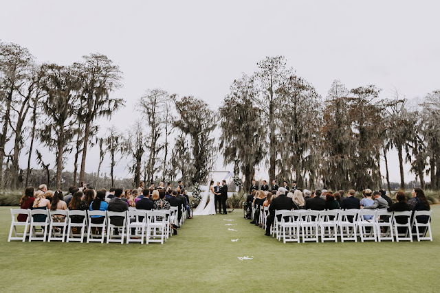ceremony at isleworth country club