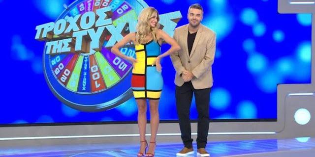 Ο πρεβεζάνος Δημήτρης Παπαμιχάηλ ήταν ο μεγάλος νικητής του παιχνιδιού ΤΡΟΧΟΣ ΤΗΣ ΤΥΧΗΣ που παρουσιάζεται καθημερινά στην τηλεόραση του STAR.