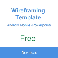 Wireframing Template (Android)