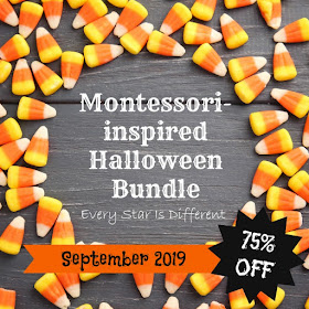 Montessori-inspired Halloween Bundle