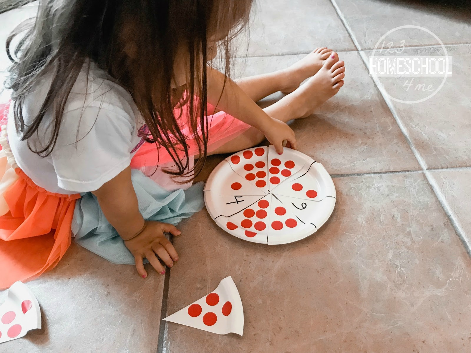 Fun Pizza Counting Activity