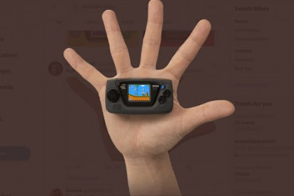 Sega to launch their new game gear micro on june 10