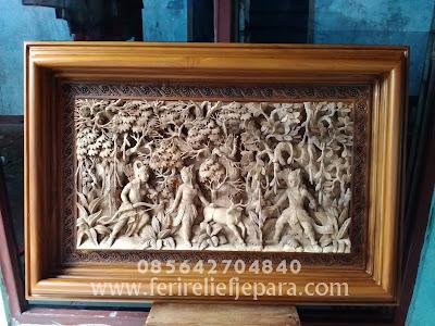 relief ramayana 3 dimensi