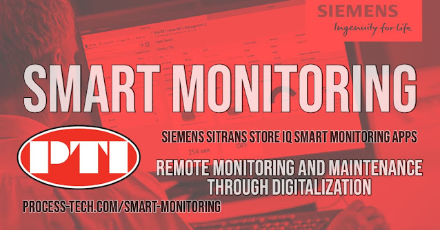 Siemens SITRANS store IQ Smart Monitoring Apps