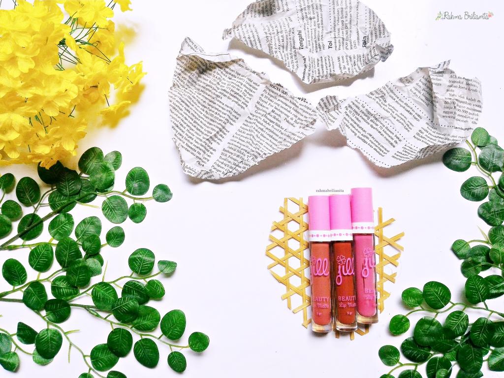 Warna Baru Jill Beauty Lip Matte Brownies Velvet 10 Review Rahma 09 Sweet Peony Netto 5gr Harga Rp 50000