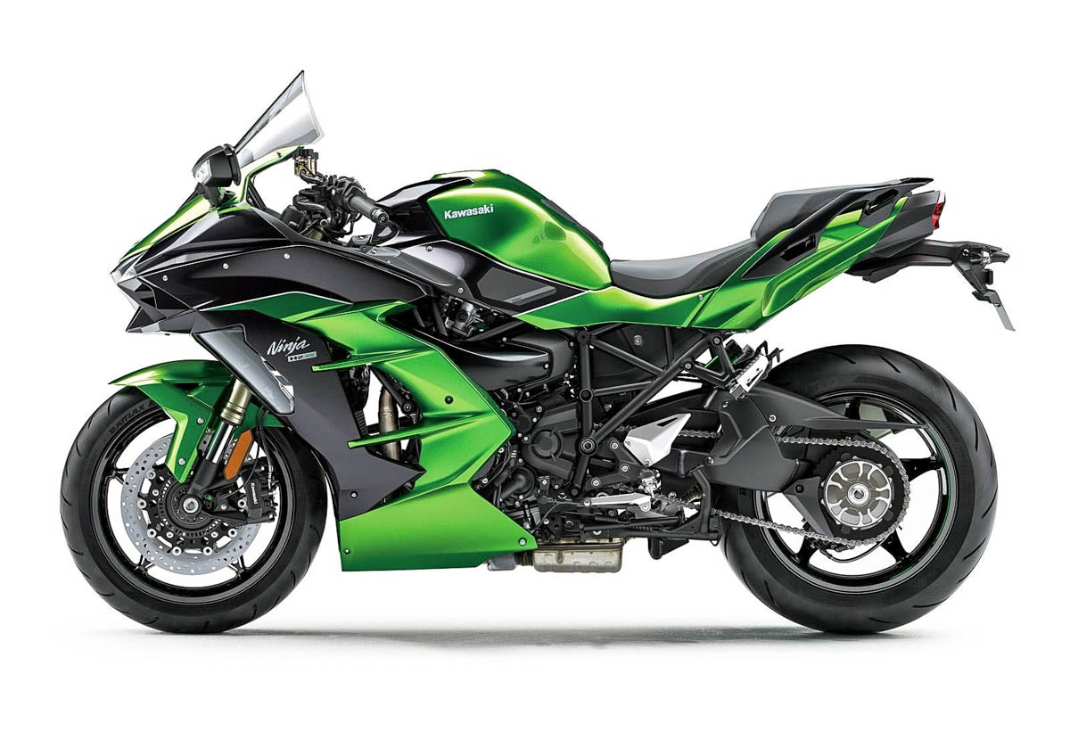 Kawasaki perkenalkan Ninja H2 SX, motor sport fairing versi touring dengan teknologi supercharger