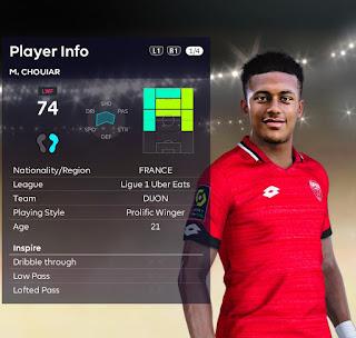 PES 2021 Faces Mounir Chouiar