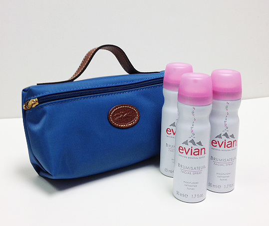 Evian Facial Spray Bon Voyage Sweepstakes For US Readers