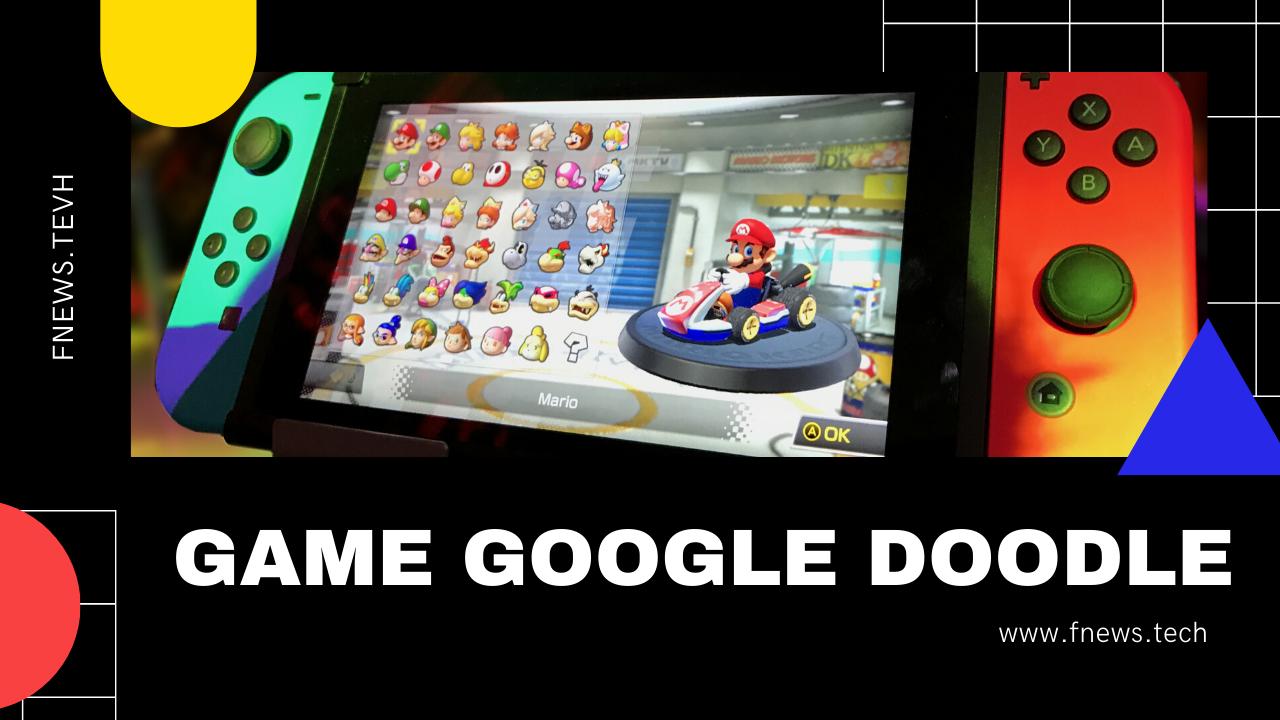 Game Google Doodle dan Cara Memainkanya