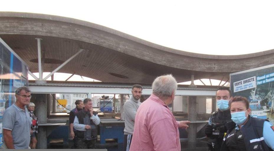 Normandie : Une rixe a éclaté entre migrants et pêcheurs à Ouistreham