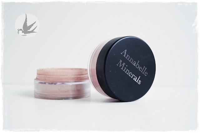Recenzja róży Annabelle Minerals Rose i Nude, makijaż mineralny Annabelle Minerals