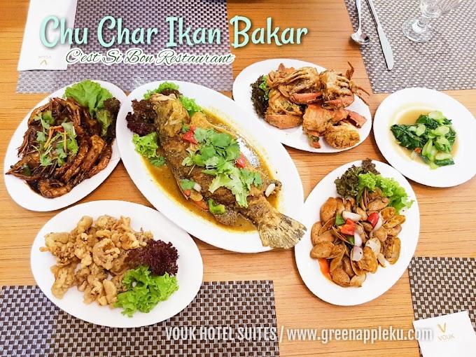 Chu Char Ikan Bakar Semi Buffet Dinner di C'est Si Bon, Vouk Hotel Suites Penang.
