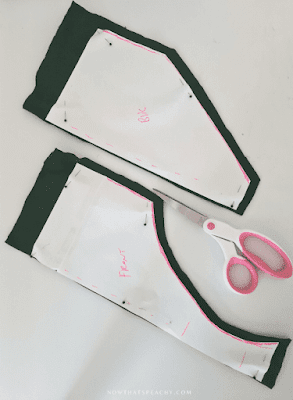 diy learn how to sew brief bikini festival fashion pants with pattern making tutorial
