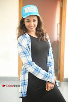 Actress Tejaswi Madivada Stills in Balck Long Dress at Babu Baga Busy Movie Interview  0036.jpg