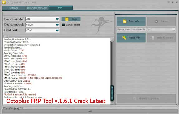 Octoplus FRP Tool v.1.6.1 Crack Latest