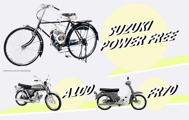 Sejarah motor suzuki Indonesia