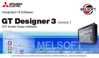 三菱 GOT 人機介面規劃軟體