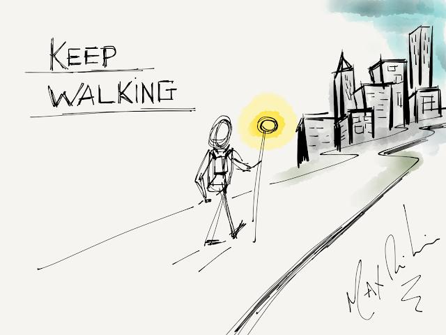 Facilitação Gráfica Max Ribeiro Keep Walking