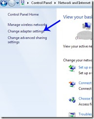 gambar Change Adapter Settings