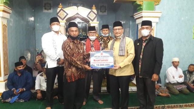Wabup Agam Irwan Fikri Safari Ramadhan Ke Matua Mudiak