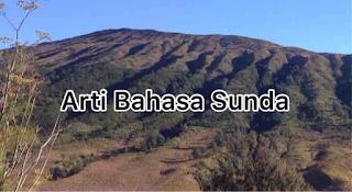 Arti Bahasa Sunda Awalan Abjad B Teumpat