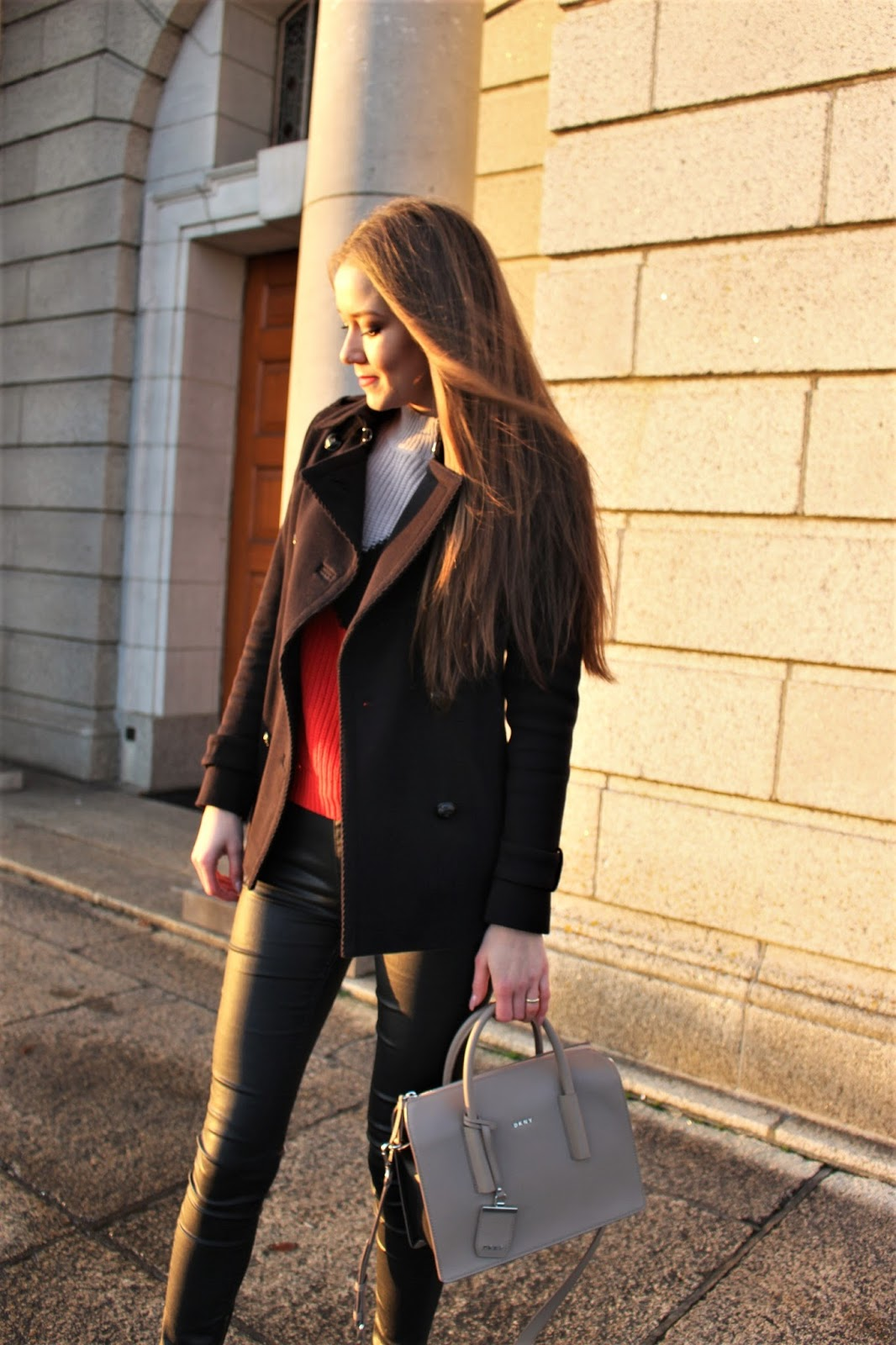 black coat military style