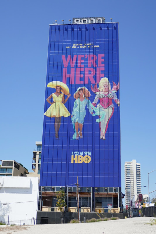 Giant Were Here series premiere billboard