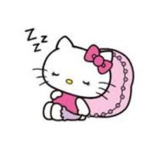 Gambar Hello Kitty Sedang Tidur Wallpaper Sleeping Hello Kitty Cute Pics