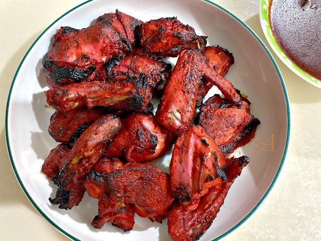 Resipi Mudah : Ayam Bakar Madu Air Fryer