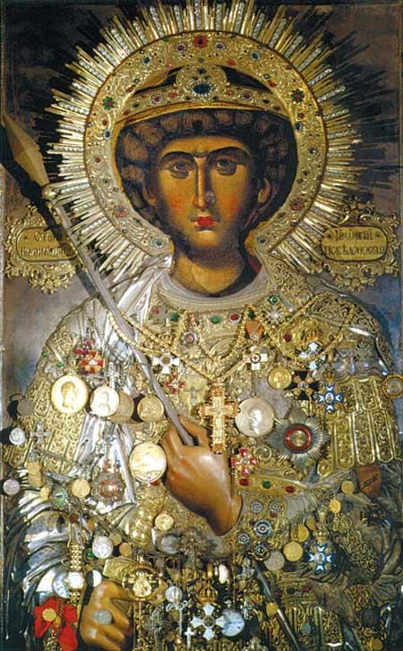 Θαυματουργές εικόνες του Αγίου Μεγαλομάρτυρος Γεωργίου στην Ι. Μ. Ζωγράφου και στην Ι.Μ. Ξενοφώντος - Αγίου Όρους   Παναγία Ιεροσολυμίτισσα
