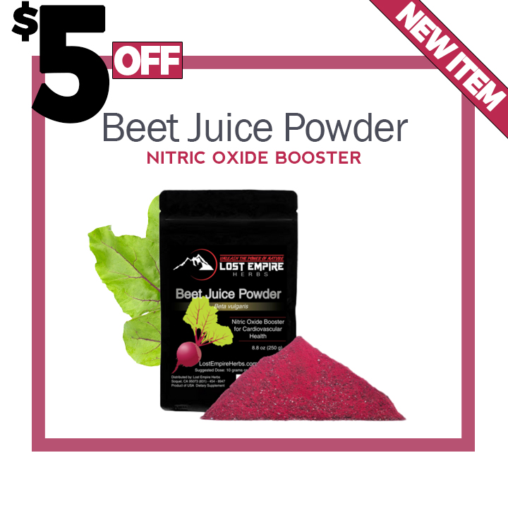 Ben's Power And Might Writings: New Organic Beet Juice Powder