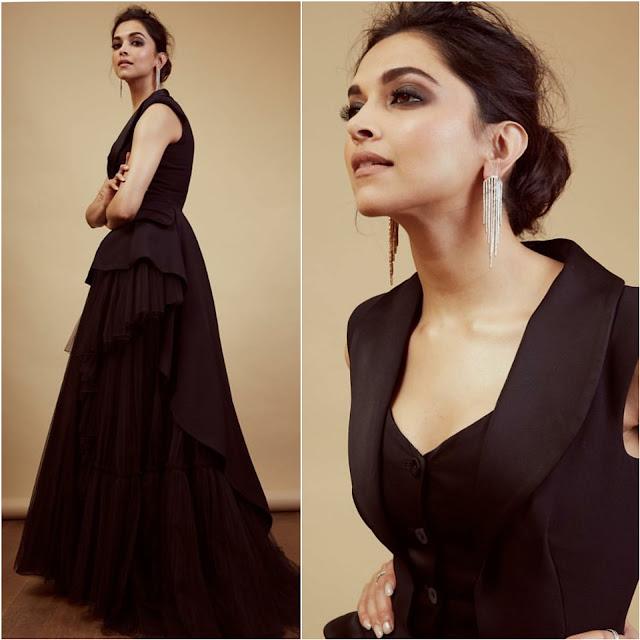 Deepika Padukone at Filmfare Awards 2019