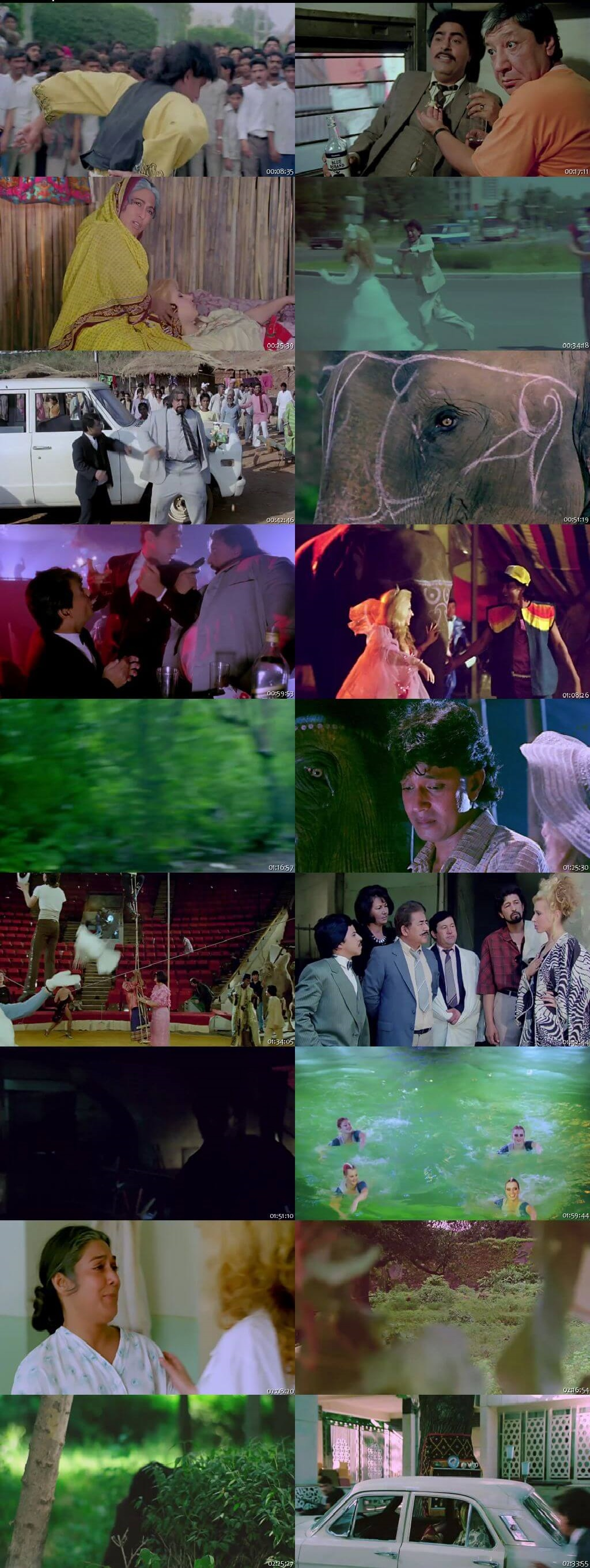 Screen Shot Of Shikari: The Hunter 1991 300MB HDRip 480P Full Hindi Movie Watch Online Free Download