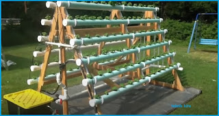 Contoh Instalsi Model Hidroponik