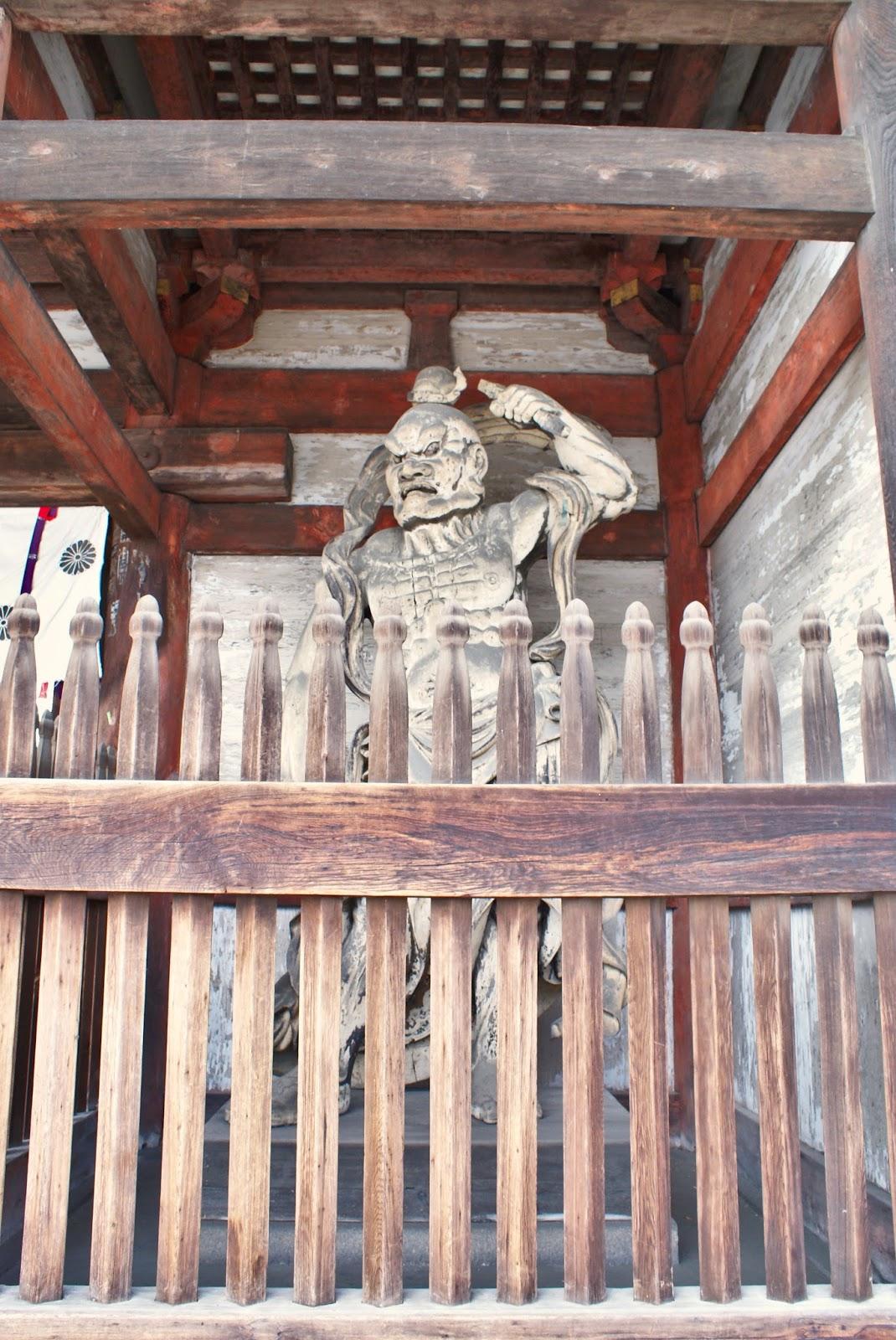 ninna ji temple nio mon kyoto japan