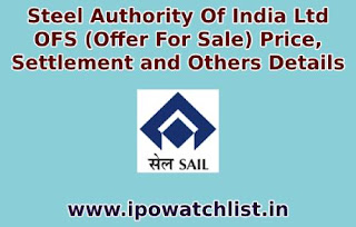 steel authority of india ofs