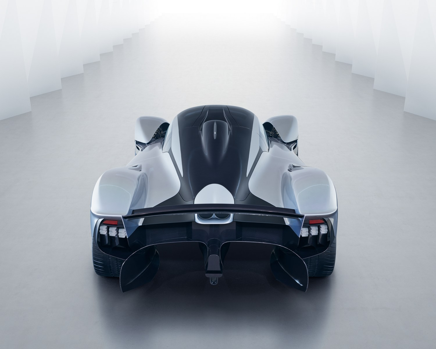 aston martin unveils updated valkyrie with improved aerodynamics