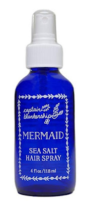 mermaid sea salt spray hair