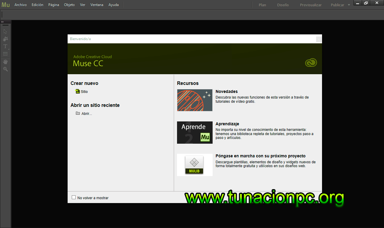 Adobe Muse CC 2015 full español